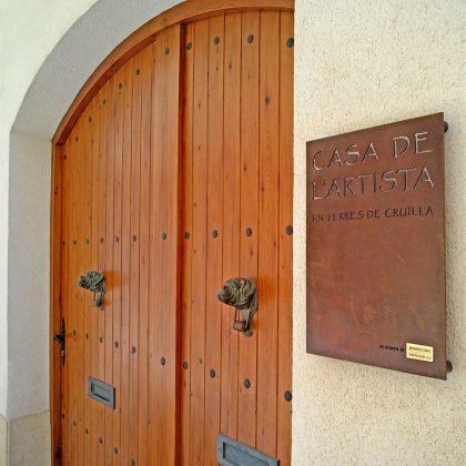 Casa de l'artista en terres de cruïlla