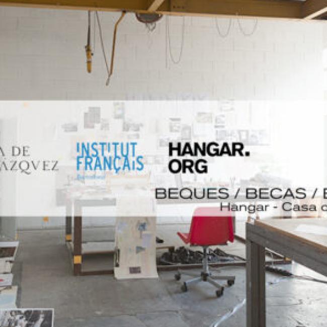 HANGAR | Convocatòria 5a edició de les beques d'intercanvi entre Hangar i la Casa de Velázquez