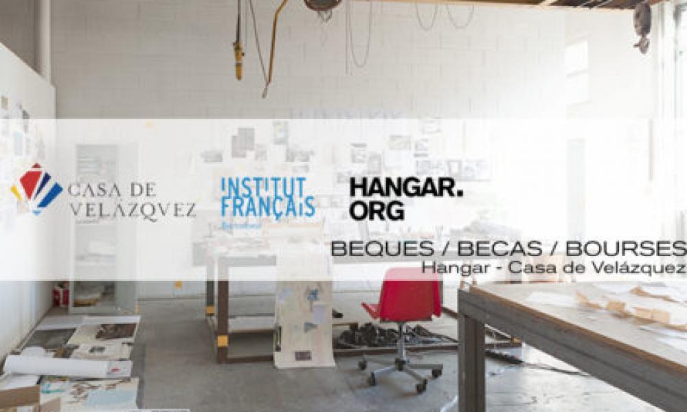 HANGAR   Convocatòria 5a edició de les beques d'intercanvi entre Hangar i la Casa de Velázquez